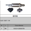 Oxygen Sensor Lambda Sensor BOSCH 0258003759