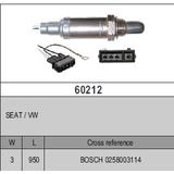 Oxygen Sensor Lambda Sensor BOSCH 0258003114