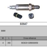 Oxygen Sensor Lambda Sensor BOSCH 0258003559