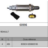 Oxygen Sensor Lambda Sensor BOSCH 0258005136