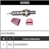 O2 Oxygen Sensor Lambda Sensor NTK OZA659-EE31