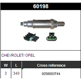 O2 Oxygen Sensor Lambda Sensor BOSCH 0258003744
