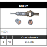 O2 Sensor Oxygen Sensor Lambda Sensor Sonda Sensor DENSO 234-4044
