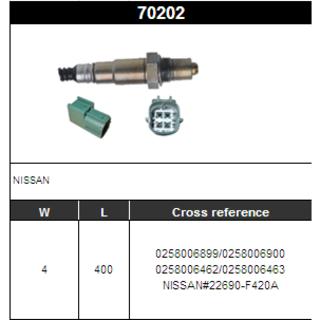 Denso 234-4066 Oxygen Sensor