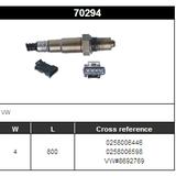 O2 Sensor Oxygen Sensor Lambda Sensor Sonda Sensor BOSCH 0258006446/0258006598