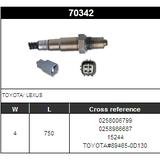 O2 Sensor Oxygen Sensor Lambda Sensor Sonda Sensor BOSCH 0258006799/0258986687