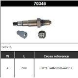 O2 Sensor Oxygen Sensor Lambda Sensor Sonda Sensor 22690-AA510