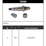O2 Sensor Oxygen Sensor Lambda Sensor Sonda Sensor 250-24440