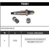 O2 Sensor Oxygen Sensor Lambda Sensor Sonda Sensor BOSCH 0258006326/0258006327