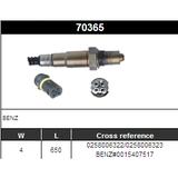 O2 Sensor Oxygen Sensor Lambda Sensor Sonda Sensor BOSCH 0258006322/0258006323