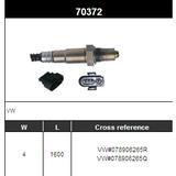 O2 Sensor Oxygen Sensor Lambda Sensor Sonda Sensor VW#078906265R/078906265Q
