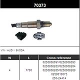 O2 Sensor Oxygen Sensor Lambda Sensor Sonda Sensor 250-24414/BOSCH 0258006091/0258006093/0258006283/0258006284/0258006285/0258006286