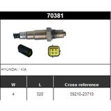 O2 Sensor Oxygen Sensor Lambda Sensor Sonda Sensor 39210-23710