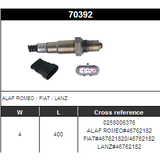 O2 Sensor Oxygen Sensor Lambda Sensor Sonda Sensor BOSCH 0258006376