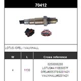 O2 Sensor Oxygen Sensor Lambda Sensor Sonda Sensor BOSCH 0258006280