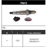 O2 Sensor Oxygen Sensor Lambda Sensor Sonda Sensor BOSCH 0258006740