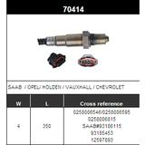 O2 Sensor Oxygen Sensor Lambda Sensor Sonda Sensor BOSCH 0258006546/0258006595/0258006815