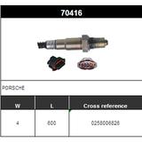 O2 Sensor Oxygen Sensor Lambda Sensor Sonda Sensor BOSCH 0258006826