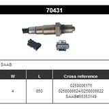 O2 Sensor Oxygen Sensor Lambda Sensor Sonda Sensor BOSCH 0258006175/0258006624/0258006622