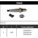 O2 Sensor Oxygen Sensor Lambda Sensor Sonda Sensor BOSCH 0258006051/0258006198/0258006427