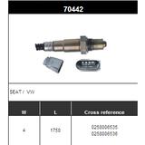 O2 Sensor Oxygen Sensor Lambda Sensor Sonda Sensor BOSCH 0258006535/0258006536