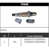 O2 Sensor Oxygen Sensor Lambda Sensor Sonda Sensor BOSCH 0258006135/ 0258006333/0258006201/0258006202