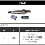 O2 Sensor Oxygen Sensor Lambda Sensor Sonda Sensor BOSCH 0258006133/0258006249/0258006250/0258006334/0258006335/0258006980