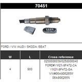 O2 Sensor Oxygen Sensor Lambda Sensor Sonda Sensor BOSCH 0258006039/0258006040
