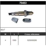 O2 Sensor Oxygen Sensor Lambda Sensor Sonda Sensor BOSCH 0258006266