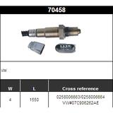 O2 Sensor Oxygen Sensor Lambda Sensor Sonda Sensor BOSCH 0258006663/0258006664