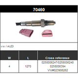 O2 Sensor Oxygen Sensor Lambda Sensor Sonda Sensor BOSCH 0258006247/0258006248/0258006394