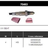 O2 Sensor Oxygen Sensor Lambda Sensor Sonda Sensor BOSCH 0258006429/0258006578