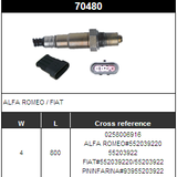 O2 Sensor Oxygen Sensor Lambda Sensor Sonda Sensor BOSCH 0258006916