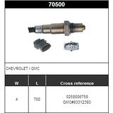 O2 Sensor Oxygen Sensor Lambda Sensor Sonda Sensor BOSCH 0258006758