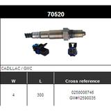 O2 Sensor Oxygen Sensor Lambda Sensor Sonda Sensor BOSCH 0258006746