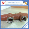PERT material new types pert pipe fittings china supplier high quality brass female pert pipe fittings