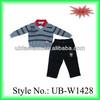 2014 winter collection 2 pcs set knitting boys sweater