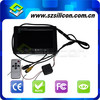 Practical and reliable 7 inch Digital TFT-LCD Car Monitors 2 AV Aviation connector Inputs