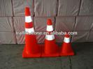 Colored Traffic Cones
