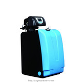 O2 high flow water softener