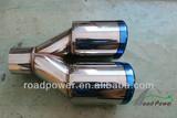 SS Exhaust Tips resonator muffler