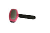 Dog Grooming Oval Head Bristle & Metal Pin Brush (PT-144300)