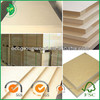 18mm melamine covered slatwall mdf slot board slotwall mdf factory