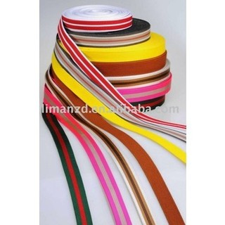 Colorful nylon/cotton  webbing for bags