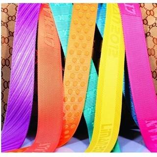 Nylon jacquard webbing/nylon belt webbing/50mm nylon webbing