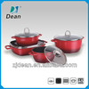 8PCS Die-casting Aluminum Non-Stick/Ceramic Cookware Set DA-FERRARI