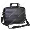 Black Computer Bag Leather Laptop Bag for Men