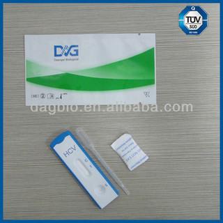 One Step HCV Rapid Test Kit/ Whole Blood/ Serum/ Plasma/ ISO 13485