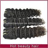 AAAAA 100% human hair deep wave hand tied weft