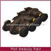 Grade AAAAA hot sell high quality hard tied hair weft